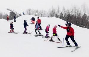 Alppihiihtokoulun esitekuva 2019